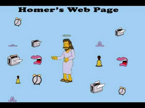 homers web page