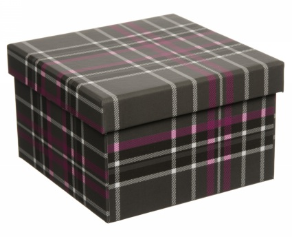 tartan box