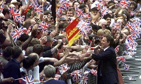 Blair wins general election 1997