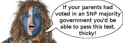 SNP spokesman 5