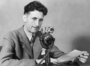 ARCHIVE SCMPOST GEORGE ORWELL **NO SALES**