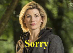 doctor who sorry