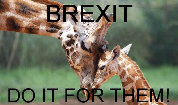 brexit giraffes