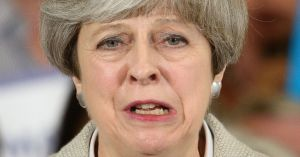 Theresa-May-Campaigns-On-The-Conservative-Battle-Bus