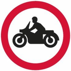 no-solo-motorcycles-sign